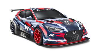 Elektromos szörnyet leplezett le a Hyundai versenyrészlege