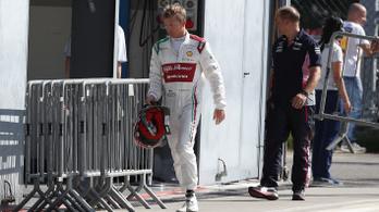 Amatőr hiba is kellett Räikkönen legrosszabb hétvégéjéhez