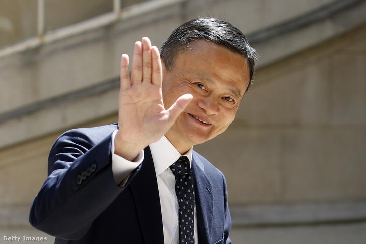 Jack Ma, az Alibaba társalapító elnöke