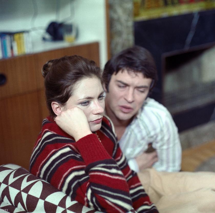Lukács Sándor és Bordán Irén 1979-ben, a Házimozi című tévéfilm egyik jelenetében.