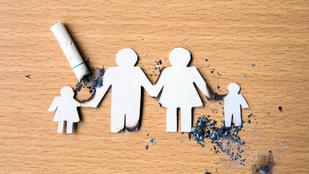 Az apa dohányzása is károsítja a születendő gyereket