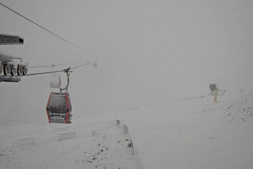 Az olaszországi Val di Sole neve azt jelenti: a Nap völgye, bár jelenleg inkább a hó birodalma a térség.