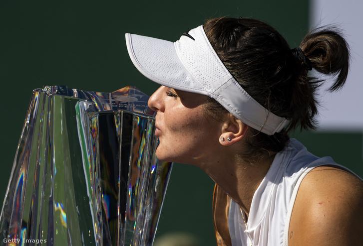 Idén márciusban életében először WTA-tornagyőztes a korábbi világelsőt, Angelique Kerbert legyőzve