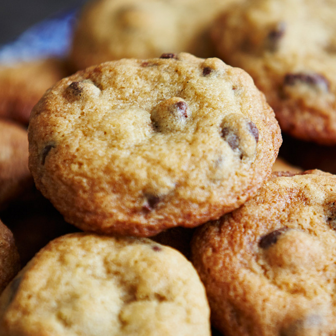 Vaníliás, illatos csokis keksz – Extra puha lesz a pudingtól