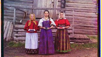 Három színben a cári Oroszországról