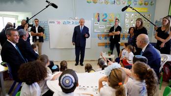 Netanjahu megint azt ígéri, hogy Izrael annektálja a ciszjordániai zsidó telepeket
