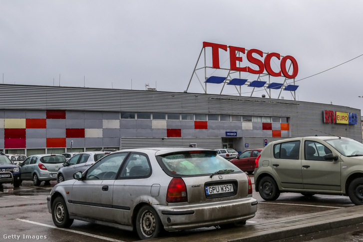 Tesco áruház Gdyniában, Lengyelországban