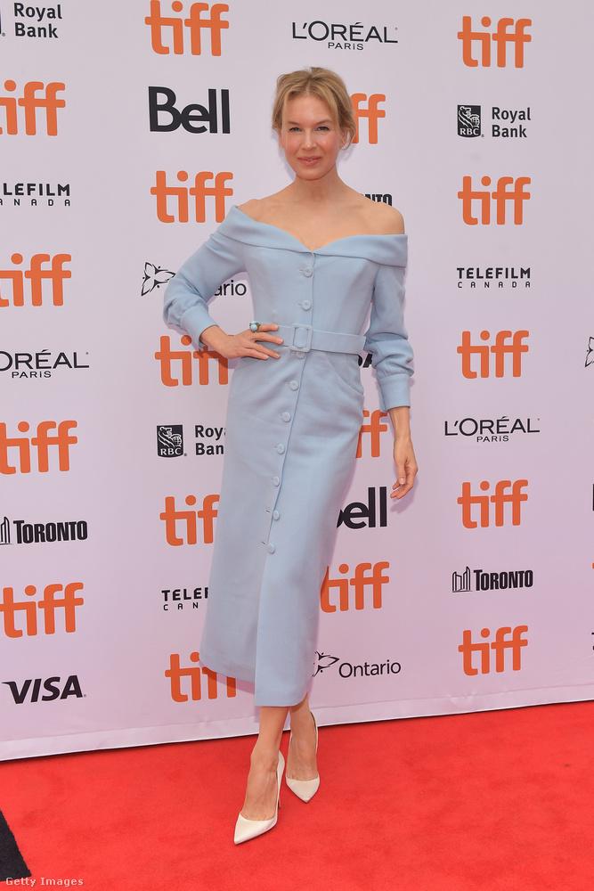Renee Zellwegerről mindenkinek a duci Bridget Jones jut az eszébe, pedig a valóságban a színésznő kifejezetten vékony, sőt, legújabb filmje premierjén ijesztően soványnak tűnt.