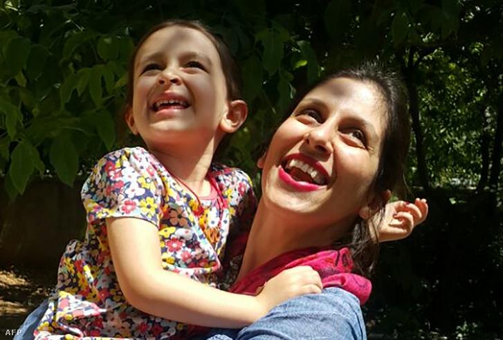A három éve Iránban raboskodó Nazanin Zaghari-Ratcliffe