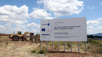 Miskolctól a szlovák határig épül autópálya uniós pénzből
