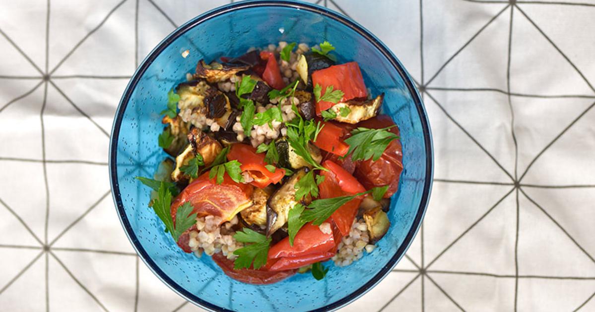 sült zöldség saláta - 1ajanlo