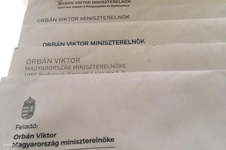 Orbán Viktor miniszterelnök korábbi levelei