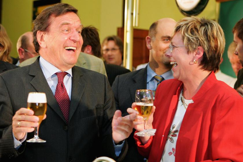 Gerhard Schröder Hamburgban 2005-ben.