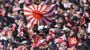 Dél-Korea kitiltatná a felkelő napos zászlókat a tokiói olimpiáról