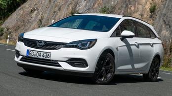 Opel Astra új motorok - 2019.
