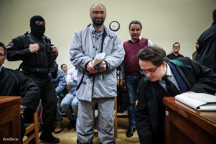 Ahmed H. a bíróságon 2019. január 17-én.