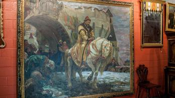 Azt hitték, a világháborúban megsemmisült a festmény, de egy lakásban lógott a falon