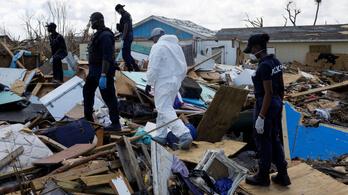 2500 ember tűnt el a Bahamákon a Dorian hurrikán miatt
