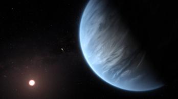 Először fedeztek fel vízgőzt egy exobolygó légkörében
