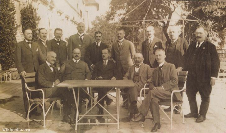 Friedrich István és miniszterei 1919-ben