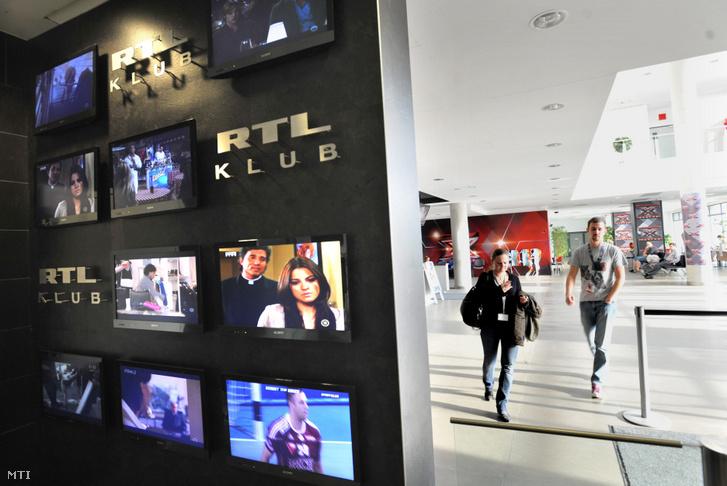 Aula a Magyar RTL budatétényi székházában 2012. október 4-én.