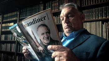 Orbán reklámozza az új, Mandiner című hetilapot