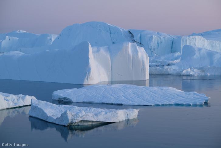 Jéghegy Grönlandon Ilulissathoz közel