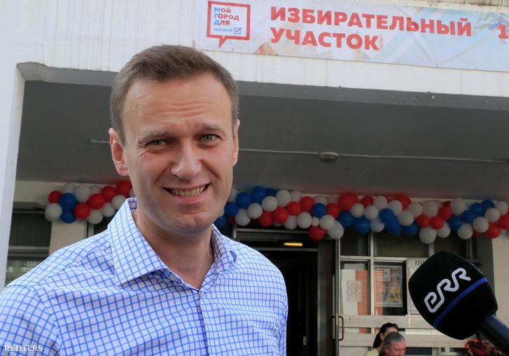 Alekszej Navalnij 2019. szeptember 8-án.