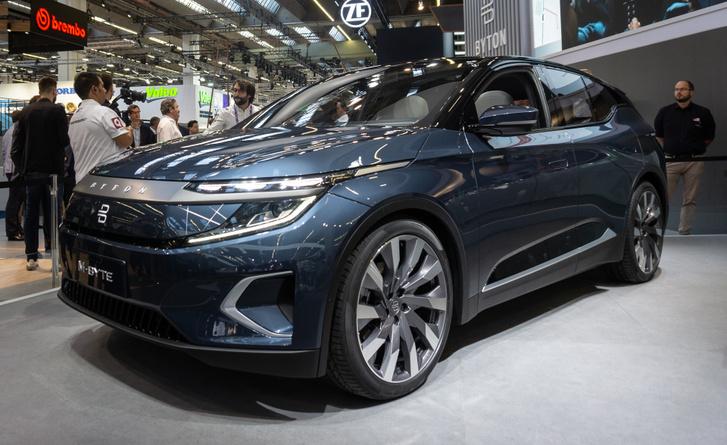 Kínai elektromos autó totalcar