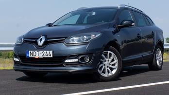 Használtteszt: Renault Mégane Grandtour 1,5 dCi 110 FAP, Limited - 2015.