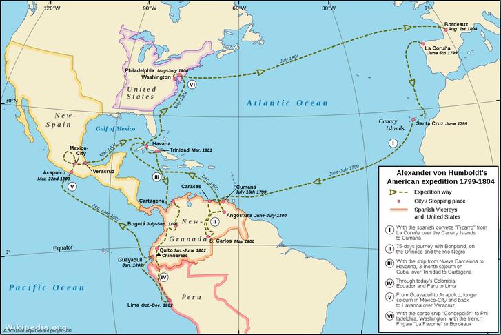 Humboldt amerikai utazása