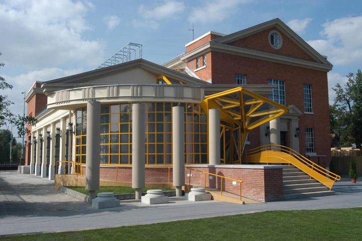 Az aquincumi áramátalakító bővítése és átalakítása a múzeum számára