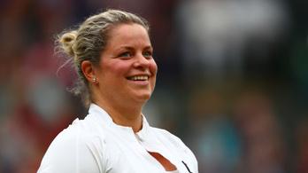 8 év kihagyás után visszatér Kim Clijsters
