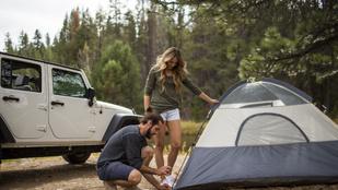 Így éld túl a kempingezést – tippek kezdő sátorozóknak