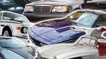 Használtautó telep másként: gyerekkorod kedvenc autói