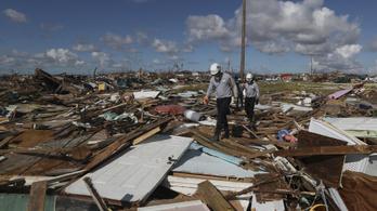 Még 1300 embert keresnek a Bahamákon a Dorian hurrikán után