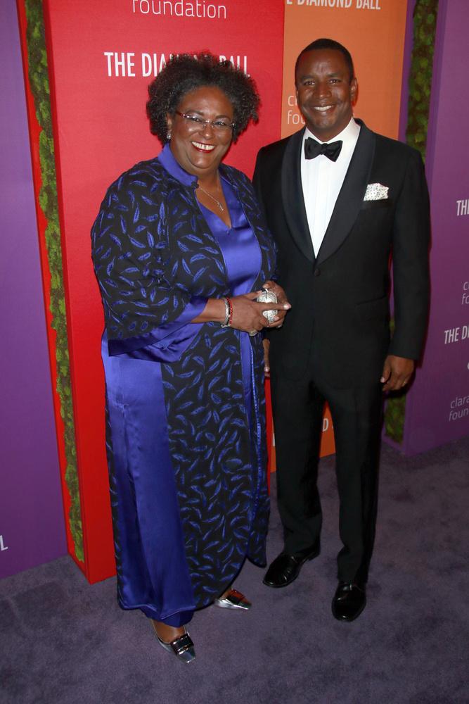 Az eseményen Barbados miniszterelnök asszonya is tiszteletét tette