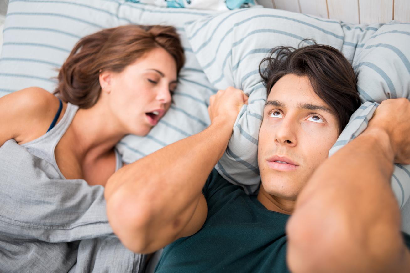 horkolás alvási apnoé