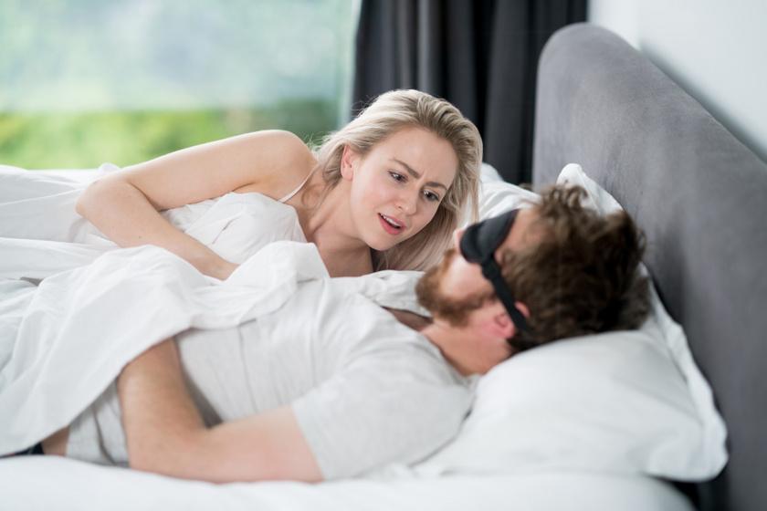 horkolás férfi