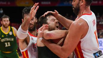 Őrült meccsen jutottak be a spanyolok a kosár-vb döntőjébe