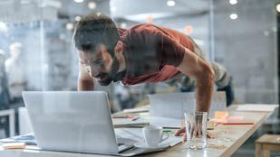 8 minigyakorlat az irodába, hogy ne tegyen teljesen tönkre az ülőmunka