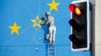 Lefestették Banksy brexites graffitijét, pedig komoly tervei voltak vele