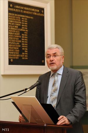 Pálinkás József, a Magyar Tudományos Akadémia elnöke