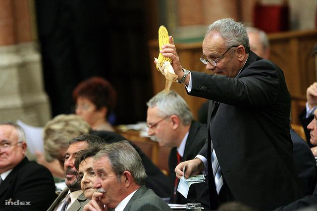 Karsai József a parlamentben