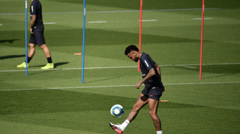 Neymar szombaton már a PSG-ben játszhat bajnokit