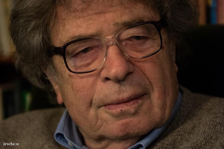 Konrád György író 2015-ben