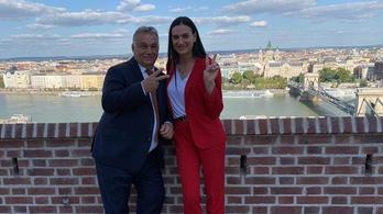 Orbán Viktor megmutatta a teraszát az orosz sztárnak