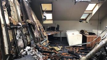 Az ÁSZ olyan papírokat kér a DK-től, amelyek elégtek a tűzben
