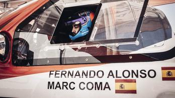 Ötszörös Dakar-győztes navigálhat Alonsónak a Dakaron