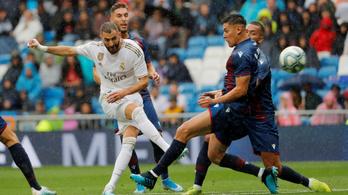 Majdnem eltékozolt háromgólos előnyt a Real Madrid